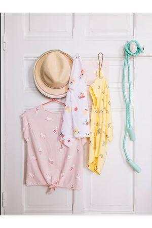 Vertbaudet Sombrero estilo borsalino para niña medio a rayas