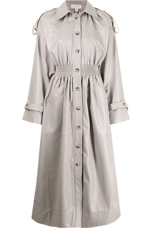 Materiel Cinched-waist trench coat