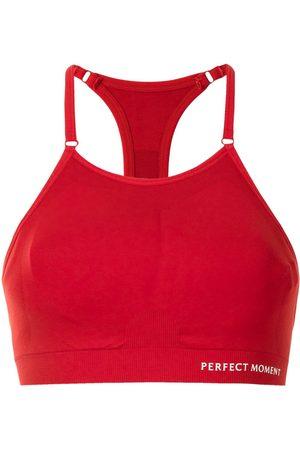 Perfect Moment Mujer Tops - Top de fitness en intarsia