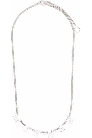 Jil Sander Mother Lettering necklace