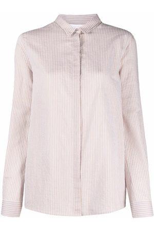 Fabiana Filippi Mujer Estampadas - Camisa con rayas estampadas