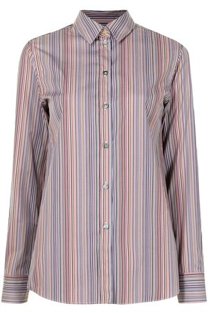 Paul Smith Camisa con estampado a rayas