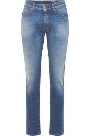 Pantaloni Torino Hombre Slim -   Hombre Pantalones Super Slim De Denim De Algodón Stretch 33