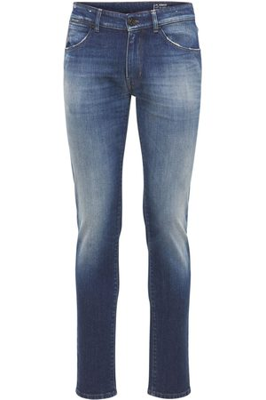 Pantaloni Torino   Hombre Pantalones Super Slim De Denim De Algodón Stretch 33