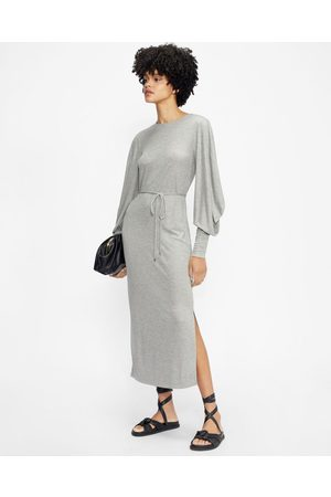Ted Baker Structured Sleeve Midi Dress