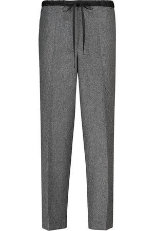 Jil Sander Mujer Pantalones y Leggings - Pantalones ajustados en mezcla de lana