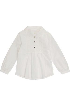Chloé Niña Blusas - Blusa de algodón