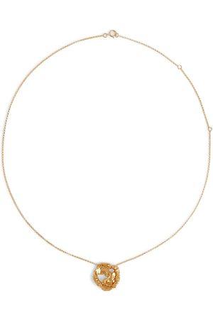 Alighieri Collar The Craters We Know chapado en oro de 24 quilates