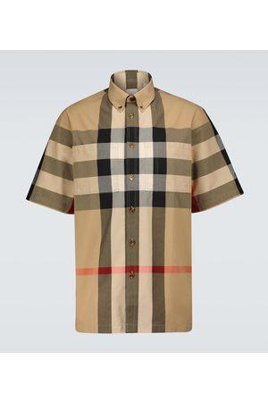 Burberry Camisa Thames a cuadros
