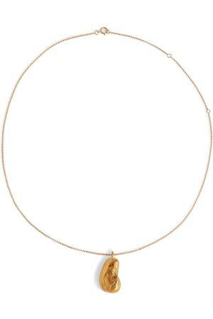 Alighieri Collar The Milkyway Untold bañado en oro de 24 quilates