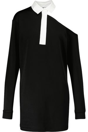 RTA Mujer Asimétricos - Vestido corto con escote asimétrico