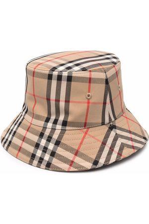 Burberry Niño Sombreros - Sombrero de pescador a cuadros