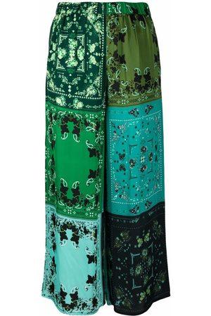 Pinko Pantalones capri con diseño patchwork