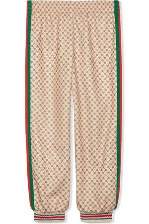 Gucci Kids Pantalones de chándal de tejido técnico