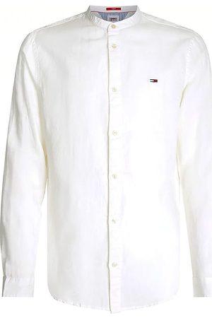 Tommy Hilfiger Camisa manga larga - Camicia bianco DM0DM10617-YBR para hombre