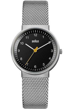von Braun Reloj analógico Brawn BN0031BKSLMHL, Quartz, 33mm, 5ATM para mujer