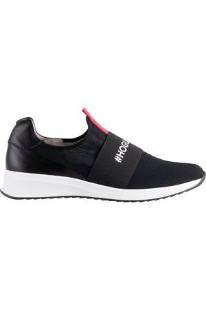 Högl Zapatos Cuñas Love-Slipper Negras para mujer