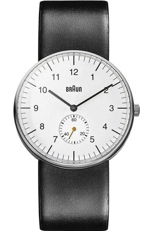 von Braun Reloj analógico Brawn BN0024WHBKG, Quartz, 38mm, 5ATM para hombre