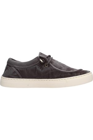Natural World Mocasines - Sneaker nero 6605E-601 para hombre