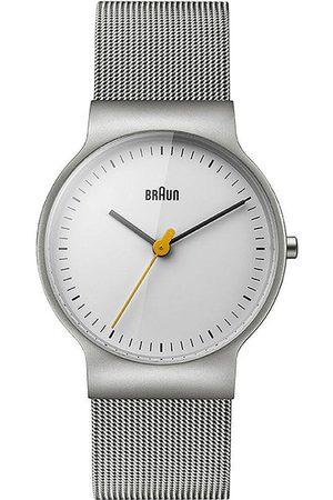 von Braun Reloj analógico Brawn BN0211WHSLMHL, Quartz, 32mm, 3ATM para mujer