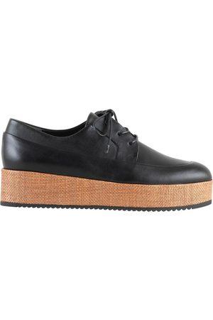 Högl Zapatos Mujer Mody Wedges Tuerca Negra para mujer