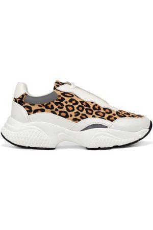 ED HARDY Zapatillas Insert runner-wild white/leopard para mujer