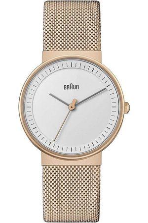 von Braun Reloj analógico Brawn BN0031RGMHL, Quartz, 32mm, 3ATM para mujer