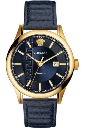 VERSACE Reloj analógico V18020017, Quartz, 44mm, 5ATM para hombre