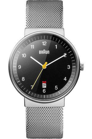 von Braun Reloj analógico Brawn BN0032BKSLMHG, Quartz, 40mm, 5ATM para hombre