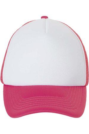 Sols Gorro BUBBLE Blanco Neon Coral para mujer
