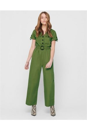 Only Mono Helen Ancle Jumpsuit Martini Olive para mujer