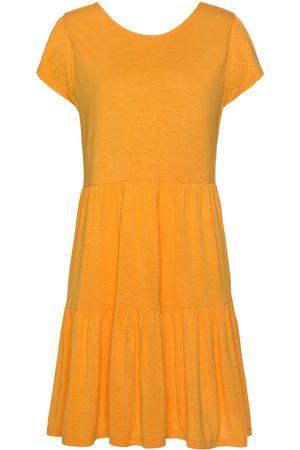 Lascana Vestidos Ranunkel vestido de verano manga corta para mujer