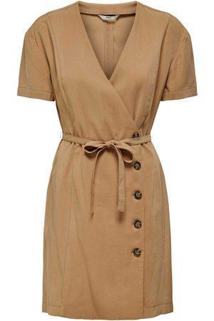 Only Vestido ONLARIS LIFE S/S WRAP DRESS PNT para mujer