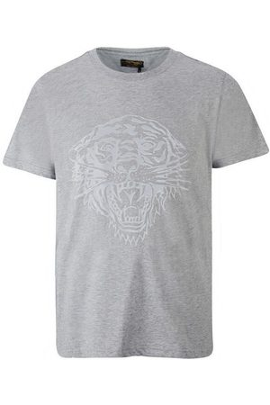 ED HARDY Camiseta Tiger glow t-shirt mid-grey para mujer