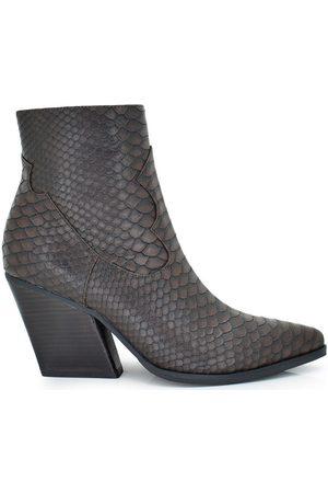 Exé Shoes Botines BOTIN COWBOY GRABADO RODEO-700 para mujer