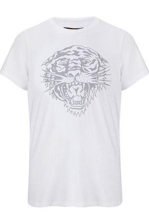 ED HARDY Camiseta Tiger-glow t-shirt white para mujer