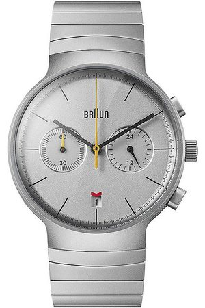 von Braun Reloj analógico Brawn BN0265SLBTG, Quartz, 40mm, 3ATM para hombre