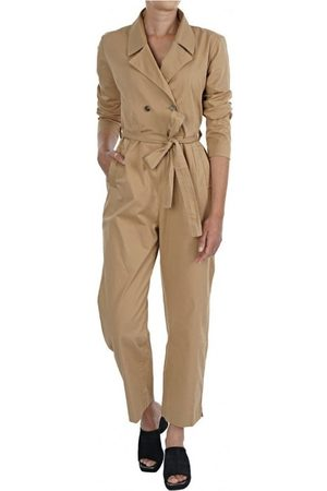 ONLY Mono Mae Jumpsuit Tannin para mujer