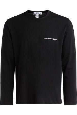 Comme des Garçons Camiseta manga larga Camiseta de manga larga negra para mujer