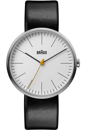 von Braun Reloj analógico Brawn BN0173WHBKG, Quartz, 42mm, 3ATM para hombre
