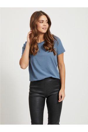 VILA Camiseta Sus T-shirt China Blue para mujer