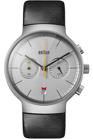 von Braun Reloj analógico Brawn BN0265SLBKG, Quartz, 40mm, 3ATM para hombre