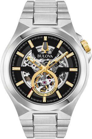 BULOVA Reloj analógico 98A224, Automatic, 46mm, 10ATM para hombre