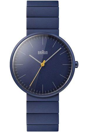 Braun Reloj analógico Brawn BN0171NVNVG, Quartz, 38mm, 3ATM para hombre