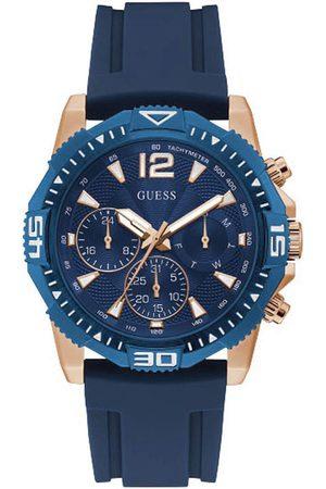 Guess Reloj analógico GW0211G4, Quartz, 45mm, 5ATM para hombre