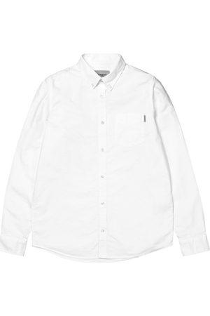 Carhartt Camisa manga larga LS Button Down Pocket Shirt para hombre