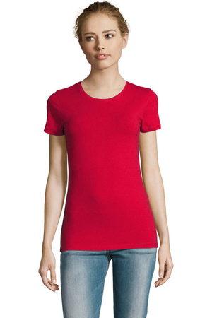 Sols Camiseta Camiserta de mujer de cuello redondo para mujer