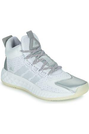 adidas Zapatillas de baloncesto PRO BOOST MID para mujer