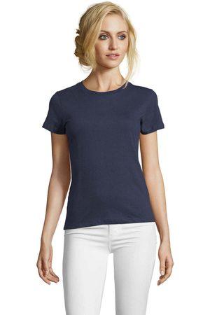 Sols Camiseta Camiseta IMPERIAL FIT color Denim para mujer
