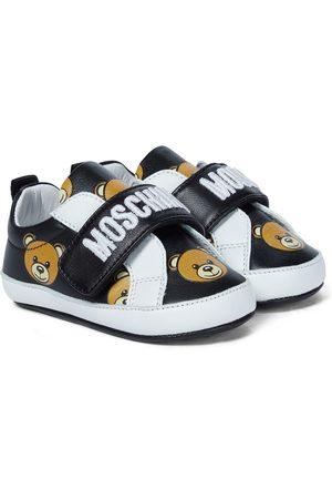Moschino Kids Bebé - zapatillas de piel